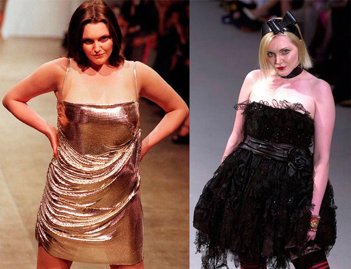 Софи Даль была первой известной моделью плюс-сайз.