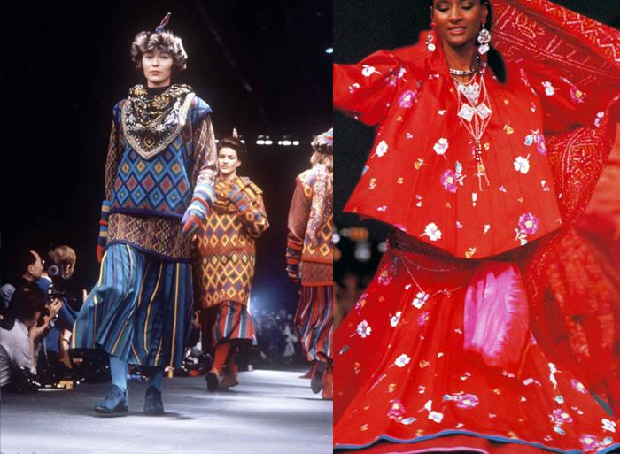 Кензо в юности обожал парижскую моду, но привез в Париж кое-что новое.