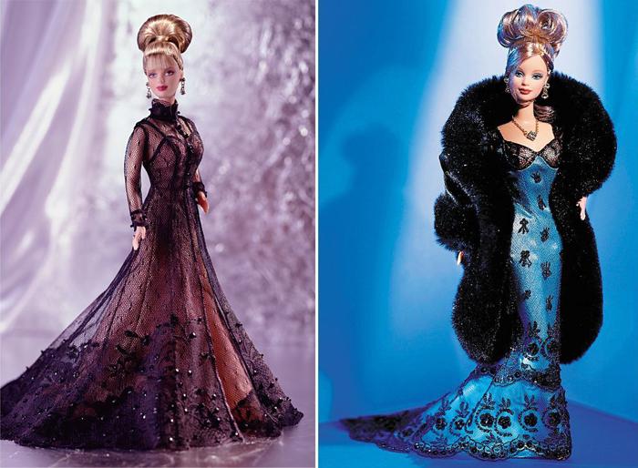 Платья от Миллера примерила и кукла Барби.