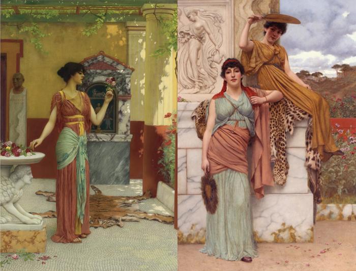 Прекрасные римлянки на картинах Годварда.