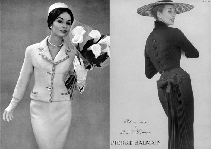 Элегантные костюмы от Бальмена.