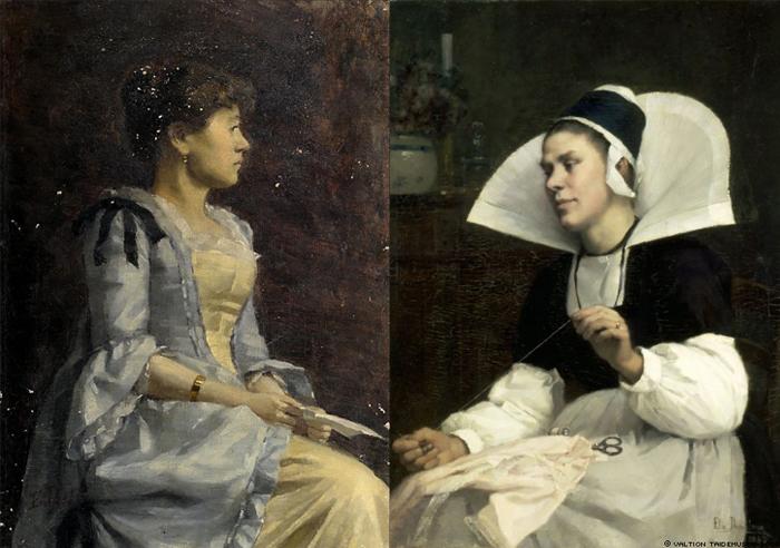 Женские портреты Элин Даниельсон-Гамбоджи.