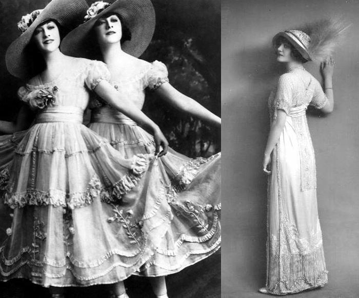Британские актрисы в нарядах от Люсиль.