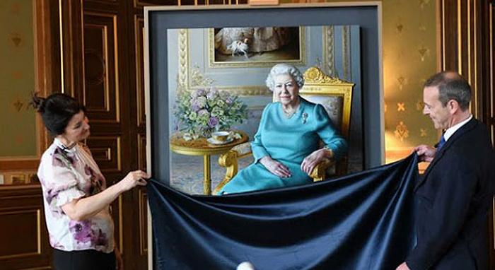 Демонстрация портрета прошла в формате видеоконференции.