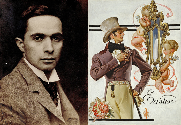 Джозеф Кристиан Лейендекер и его иллюстрации.