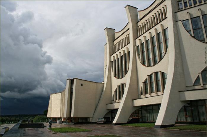 Областной драматический театр в Гродно, Белоруссия.