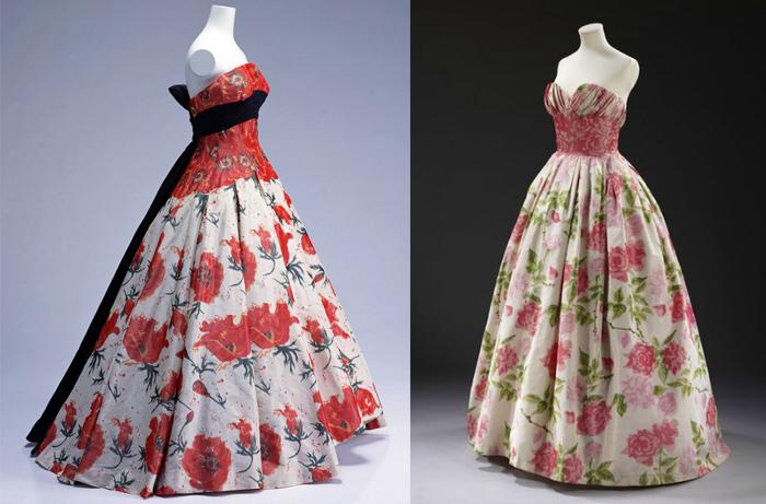 Платья от Бальмена.