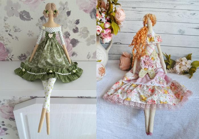 Куклы-тильды от современных мастериц.