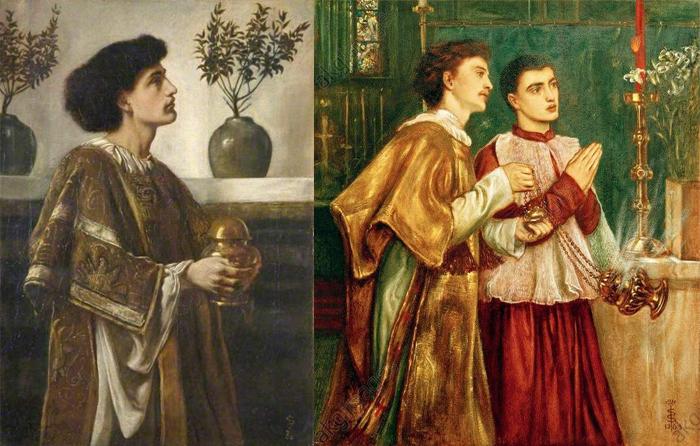 Образы священников.
