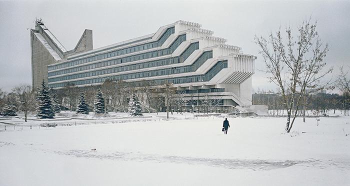 Политехнический институт в Минске, Беларусь.