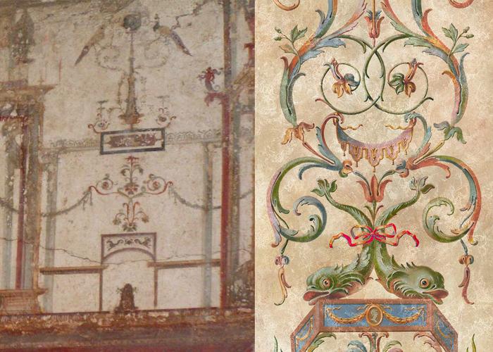 Декор Древнего Рима и итальянского Ренессанса - почти не отличить друг от друга!