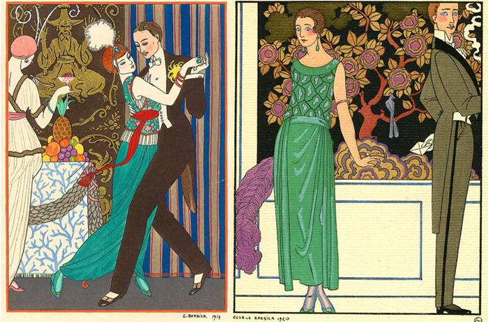 Барбье не только мастерски изображал светскую жизнь, но и сам любил вечеринки.