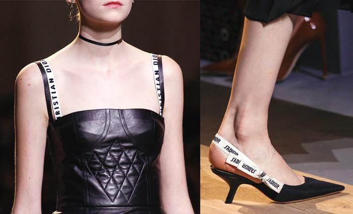 Показ первой коллекции Кьюри в Dior - детали.