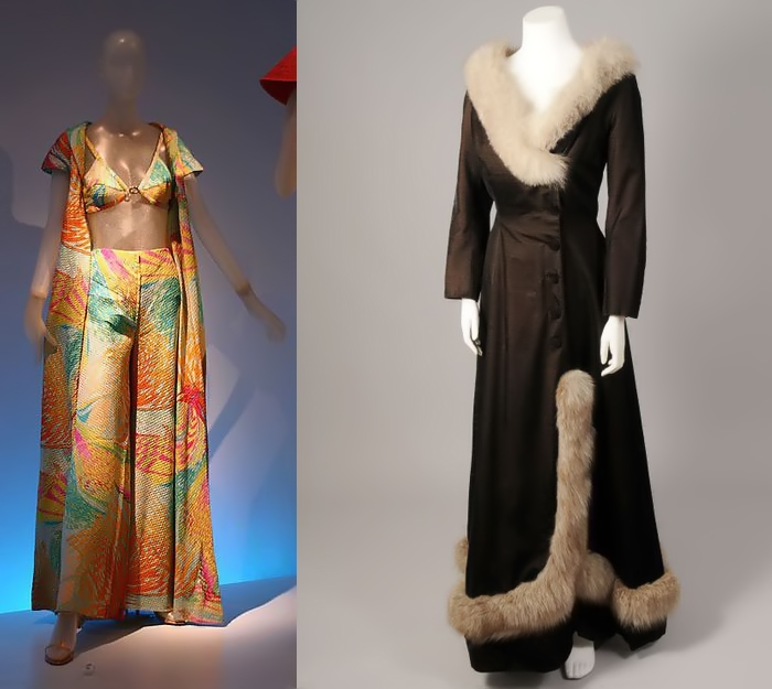 Голицына создавала и пляжные костюмы, и верхнюю одежду.