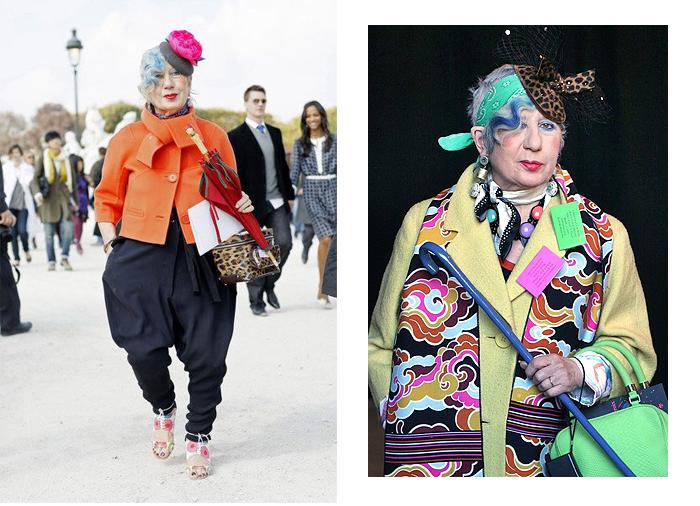 Невероятный стиль Анны Пьяджи.
