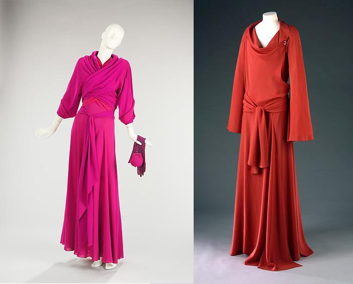 Мадлен Вионне нечасто включала цвет в свои работы.