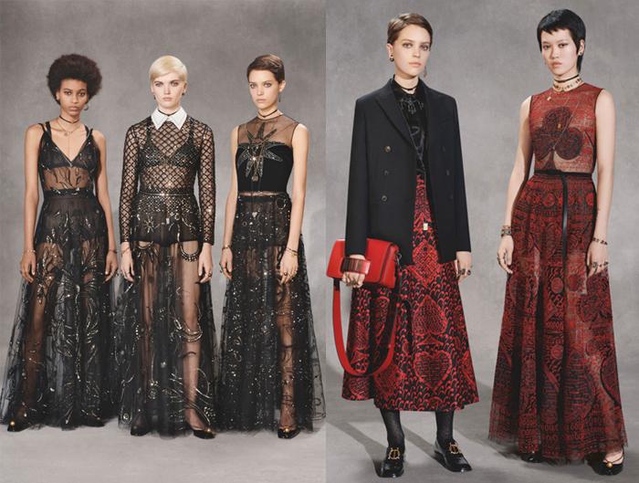 Прозрачные юбки - визитная карточка нового Dior.