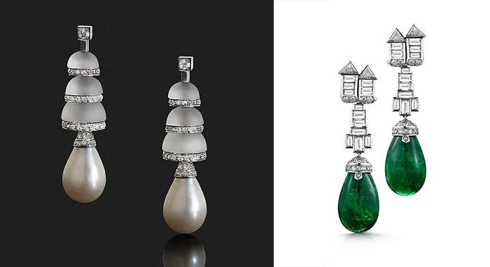 Одной из первых Бельперрон начала сочетать драгоценные и поделочные камни.