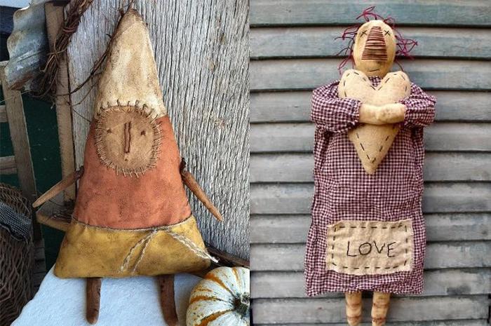 Куклы-примитивы.