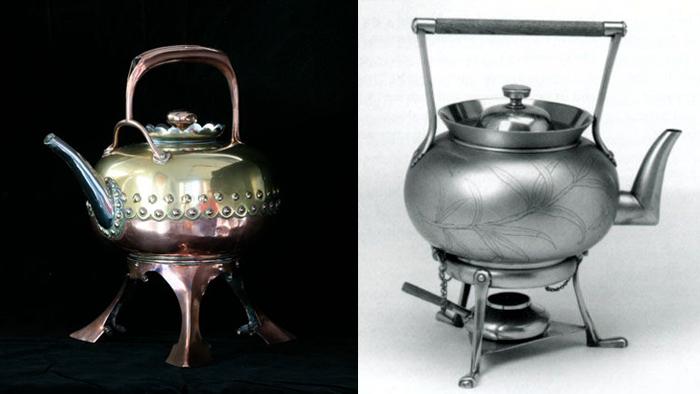 Первые металлические чайники Кристофера Дрессера.