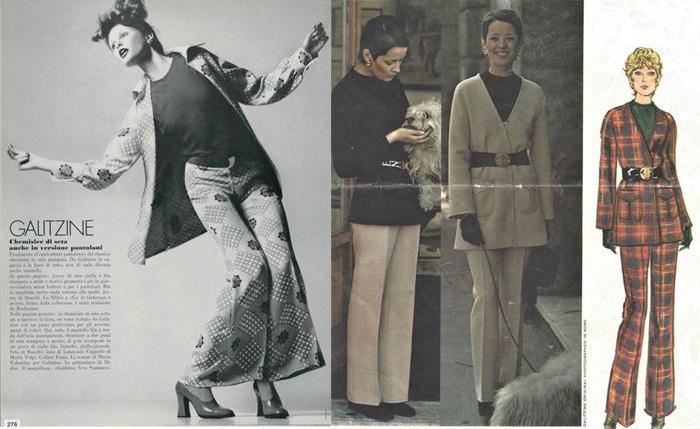 Голицына научила женщин носить брючные костюмы.