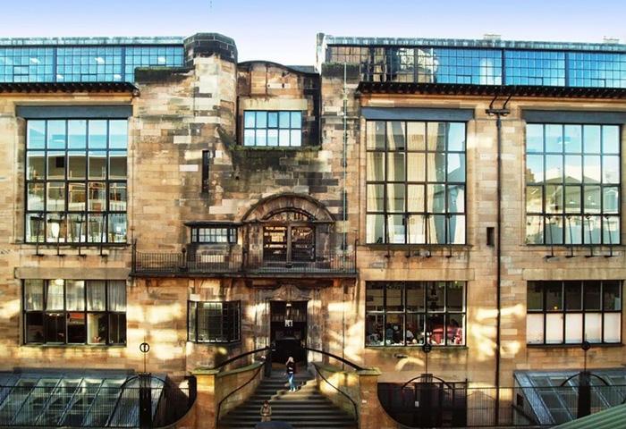 Чарльз Макинтош, школа искусств в Глазго.