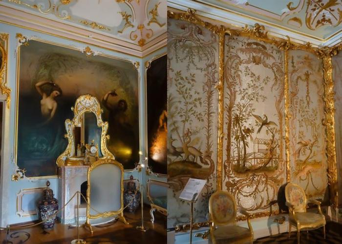 Интерьеры Китайского дворца в Ораниенбауме.