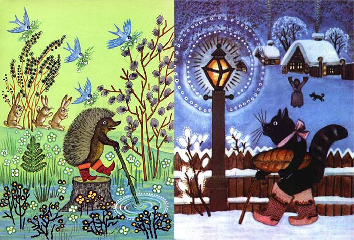 Сказочные иллюстрации Юрия Васнецова.