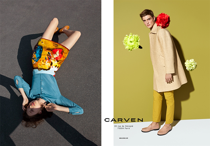 Современные модели Carven.