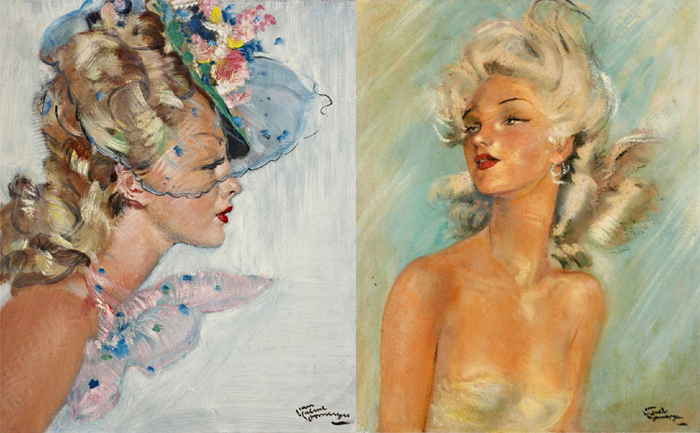 Домерг учился технике у импрессионистов.