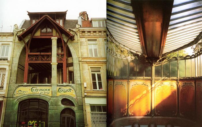 Фрагменты построек Эктора Гимара.