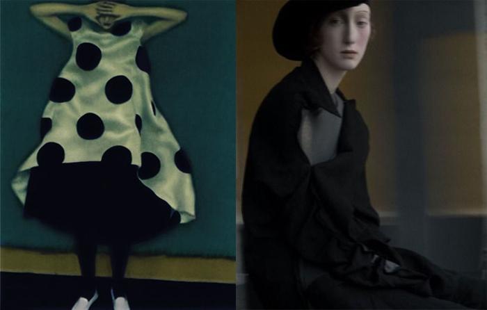 Сара стремится передать характер и живую пластику моделей.