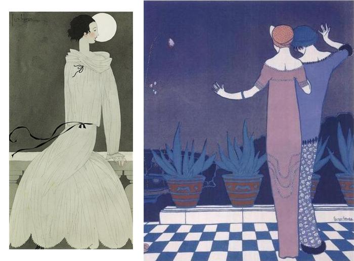 Модные иллюстрации Жоржа Лепапа.
