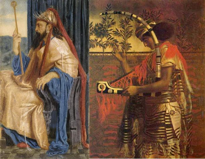 Образы персонажей Ветхого Завета.