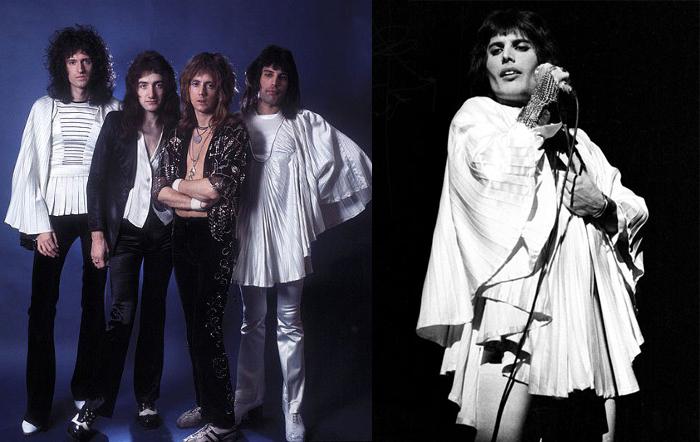 Концертные костюмы для группы Queen.