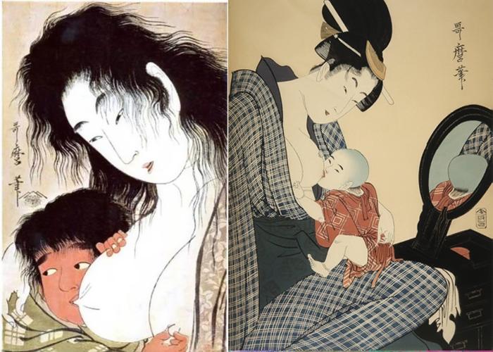 Утамаро изображал подробности жизни реальных женщин.