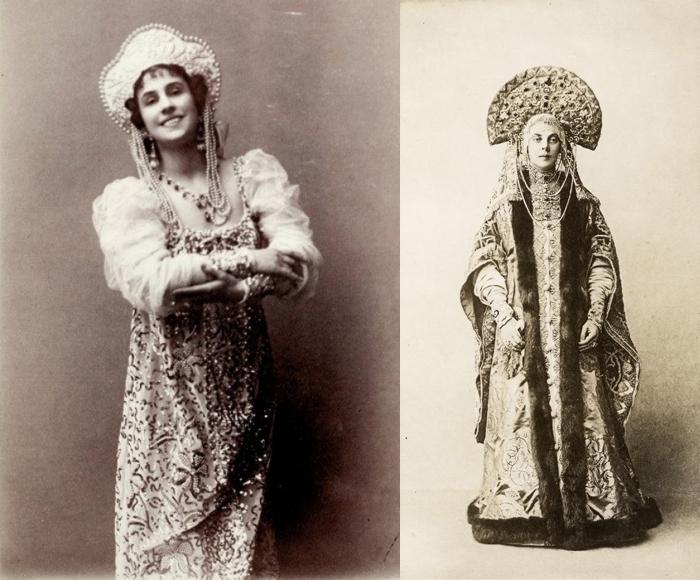 Матильда Кшесинская и графиня Орлова-Давыдова.