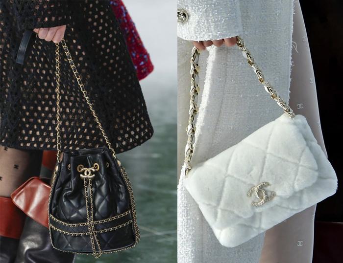 Известные модели аксессуаров Chanel в интерпретации Виар.