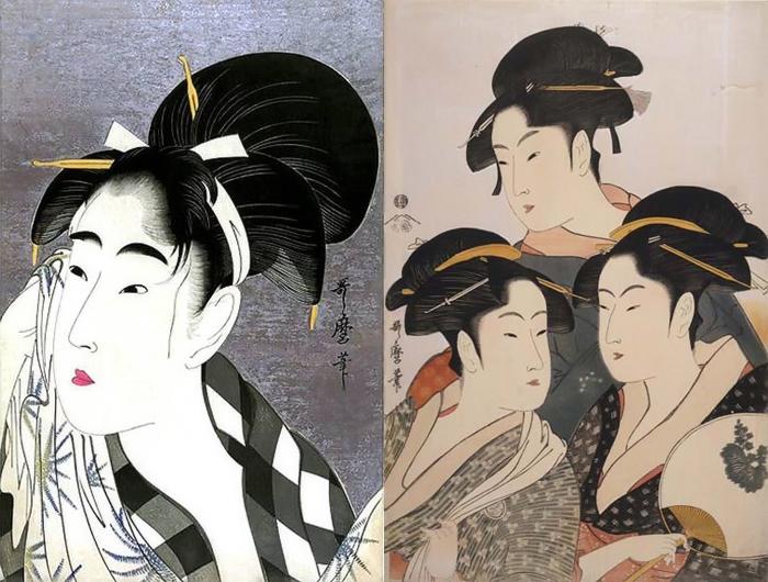 Гейши Утамаро вдохновляли великих художников Европы.