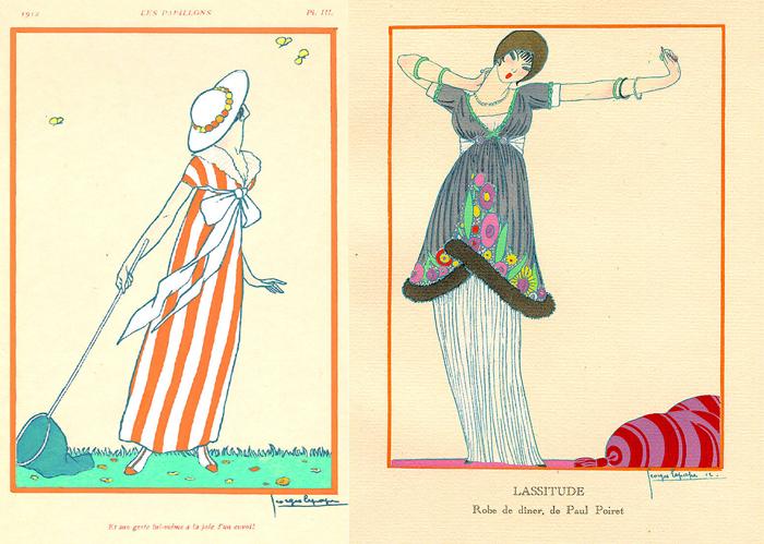 Иллюстрации для Поля Пуаре.