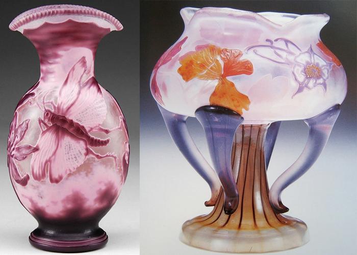 Галле мечтал создать новое, необычное стекло.