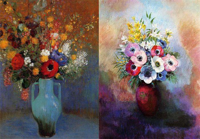 Творчество Редона после очередного депрессивного эпизода наполнилось цветом.