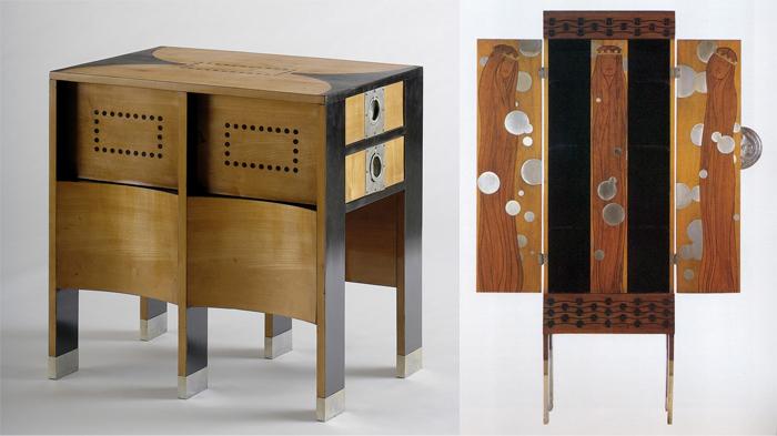 Мебель в квадратном стиле.