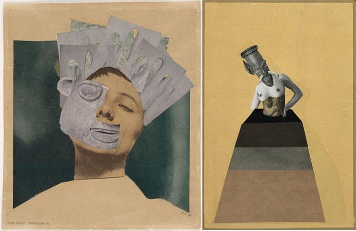 Ханна Хёх совмещала современность и первобытное искусство.