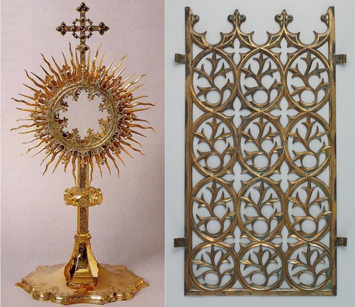 Церковная утварь и декор.