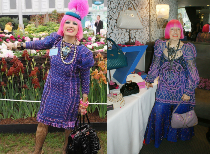 Зандра придерживается собственного стиля уже много лет.