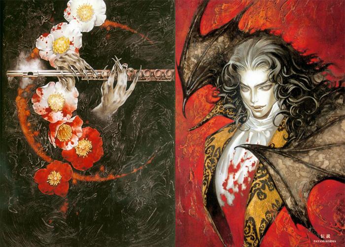 Рисунки, посвященные Дракуле.