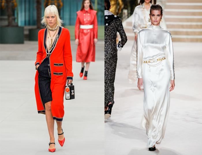В моделях Виар сохраняются идеи Лагерфельда и самой Шанель.