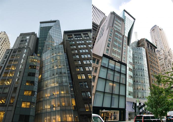 Башня LVMH - штаб-квартира группы в Нью-Йорке.