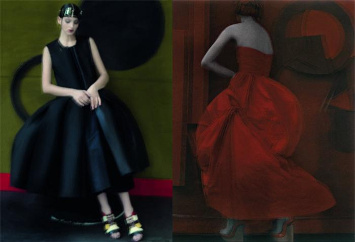 Сара Мун была моделью, но прославилась как модный фотограф.